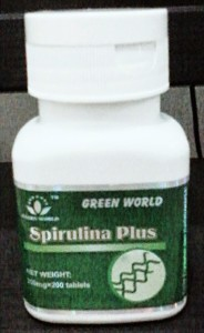 Green-World-Spirulina-Plus-Tablet